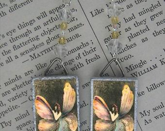Butterfly Fairy Beaded Earrings