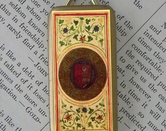 Ace of Disks Tarot Card pendant