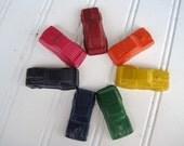 Mini Race Car Crayons - Set of 7