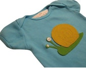 Infant Bodysuit - Snail