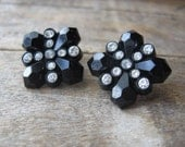 art deco celluloid and rhinestones crosses squares xes
