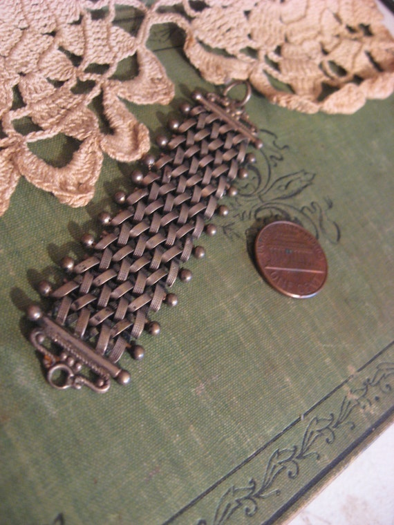 silver albert victorian watch fob link chain mesh antique piece supply