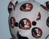 Teddy Bear Seminoles Florida College Noles NCAA Football Sports Team Mascot