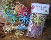 Paper String Daisies (Brights)