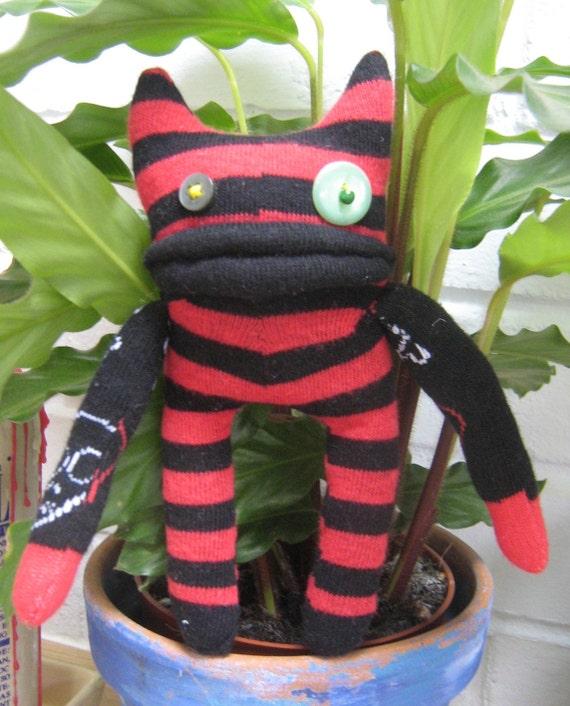 Spot, a sock monster