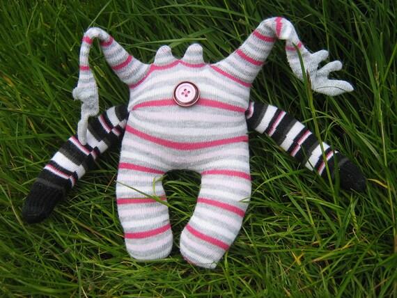 Obadiah - a sock monster