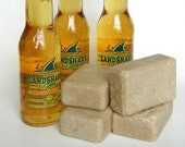 Lather With Your Landshark Larger - Beer Soap of Florida - hot process bar soap (vegan friendly)