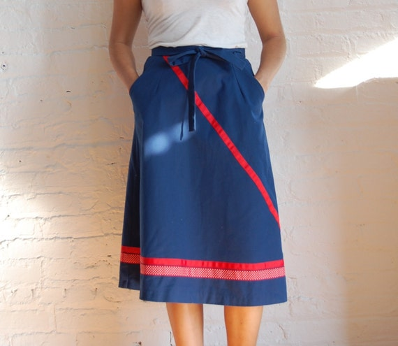 ribbon wrap skirt (s-m)