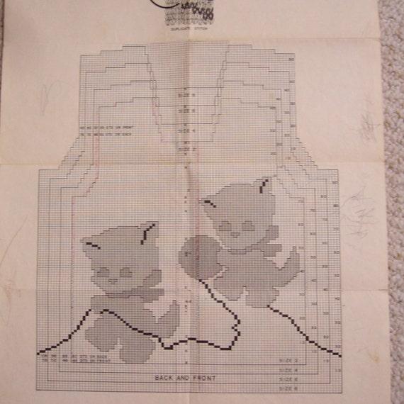 Graph Style Knitting Pattern : Knit O Graf Graph style KNITTING pattern childrens cardigan