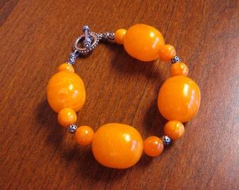 SALE! Melon Ball Beaded Bracelet