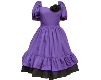 Simple Gothic Lolita Dress available in many Colors--------- Custom in your size