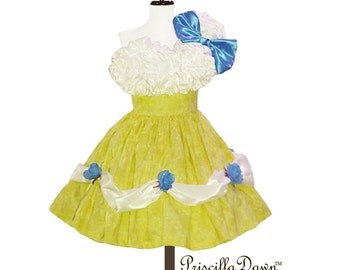 Summer Sale Custom in your size Ruffle Buttercup Summer Birthday cake dress