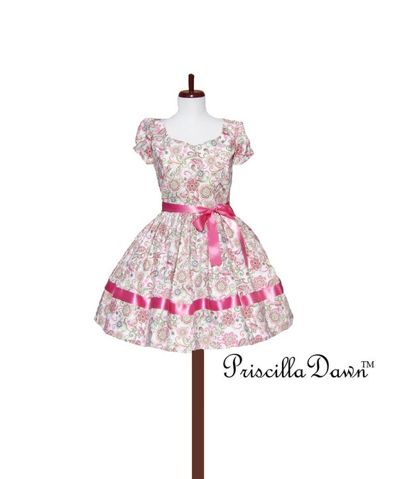 Custom in Your size Priscilla Dress