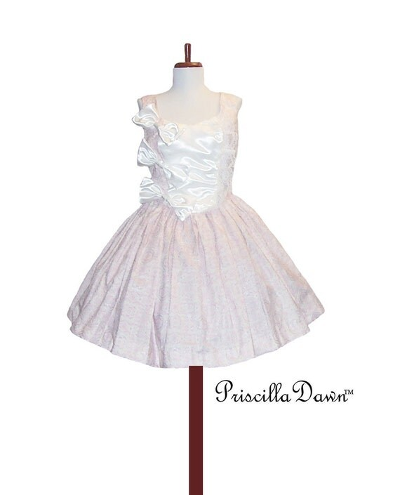 CUSTOM in your size Mary Antionette Doll Dress with Bows and Petticoat PriscillaDawn collection
