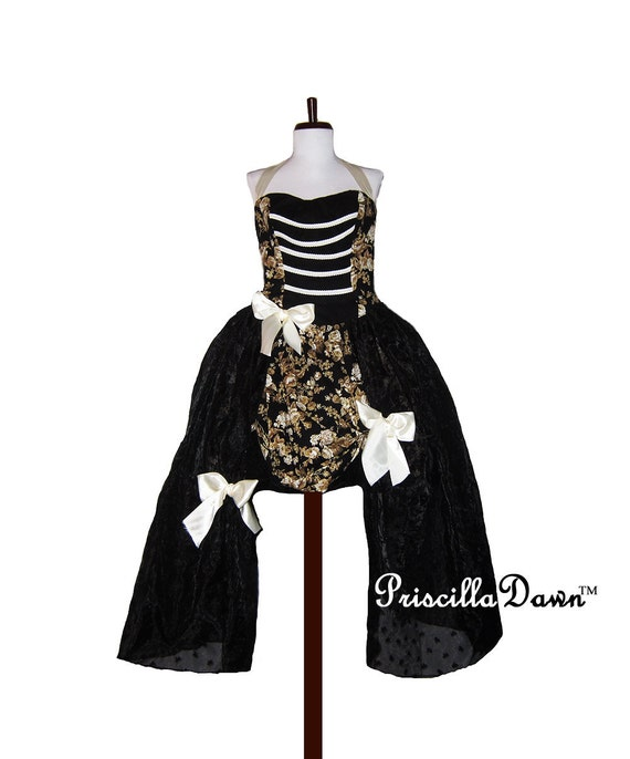 SALE Ready to ship Formal Steampunk Fantasy Inspired Special Occasion Gown