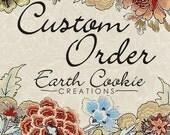 Reserved Custom Order for GoldenPondStudio 20 Pinwheel Cupcake Toppers