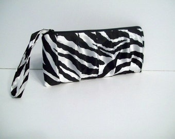 Pleated Clutch (choose colors) Monogram available-Bridesmaid gifts, bridesmaid clutches, bridal clutches wedding party