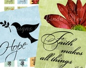 Instant Download - CHRISTian Images 2 (1 x 1 Inch) Digital Collage Sheet  Sale JESUS TRUTH christ dove faith printable magnet button sticker