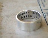 Secret Message Ring Sterling Silver (E0250)