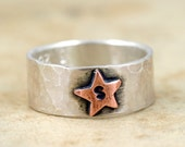 Personalized Star Ring (E0241)