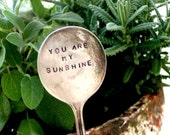 Antique Silverware Garden Marker Plant Stake (E0170)