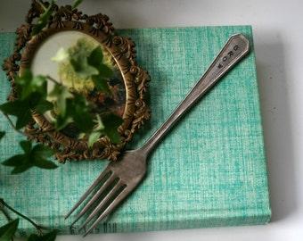 Grow Fork Vintage Silverware Garden Marker (E0196)