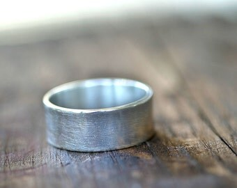 Silver Wedding Band (E0251)