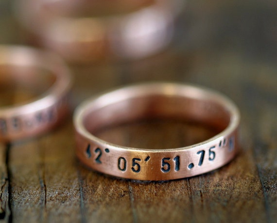 Custom ring copper band (E0187)