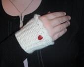 With Love Fingerless Gloves
