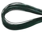 Hunter Green 1.5mm Greek Leather Round Cord 41540 (5 meters), Jewelry Cording, Necklace Cord, Bracelet Cord, 1.5mm Cording, 1.5mm Leather