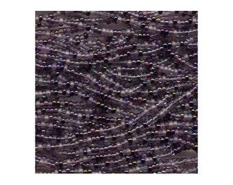 Czech Seed Beads 11/0 Lilac Mix 17693 6 Strand Hank, Glass Seed Beads, Precoisa Beads, Round Seed Beads, Rocaille Bead, Glass Bead