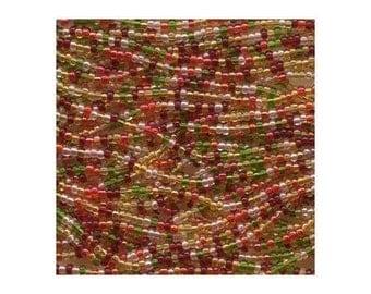 Czech Seed Beads 11/0 Tango Mix 17691 6 Strand Hank Glass Seed Beads, Precoisa Beads, Round Seed Beads, Rocaille Bead, Glass Bead