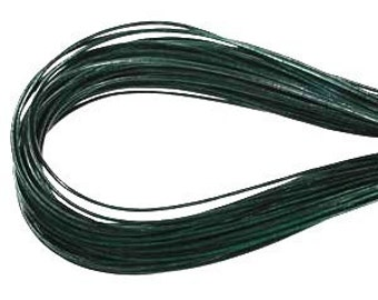 2mm Hunter Green Greek Leather Round Cord 43257 (5 meters), Round Leather Cording, Greek Leather Cord, Supple Leather Cord, Greek Cording