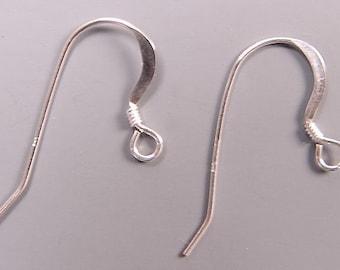 French Hook Earrings Sterling 42004 (3pr)