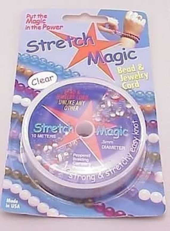Stretch Magic Cord 0.5mm Diameter 10meters Clear Round