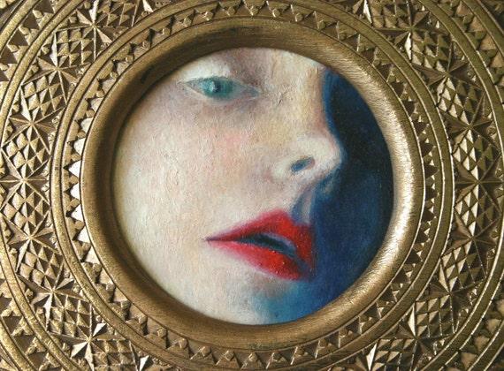 Original Oil Painting-Untitled Saint