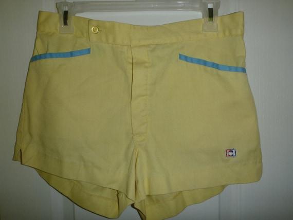 vintage  yellow CATALINA  athletic  shorts size 32