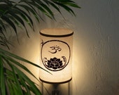 Night Light - Om/Lotus - Spiritual - OM - Lotus - Altar - Breath - Sacred