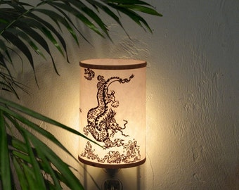 Night light crane nightlight bedroom lighting bathroom Bathroom in chinese characters