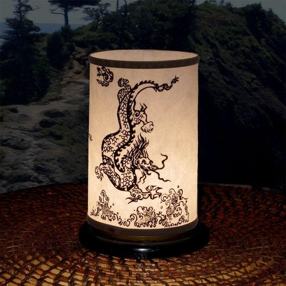 Candle Holder (Shoji Candle Lantern - Dragon) Party Decor