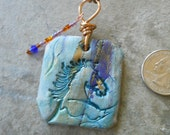 Horse Jewelry, Horse Charm, Horse Pendant, colorful horse gift