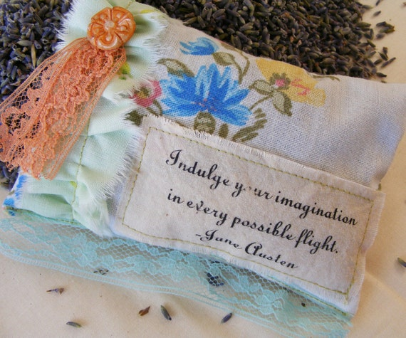 Indulge your imagination... Lavender Sachet