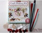 SALE...Be Mine --VINTAGE VALETINE-- Cardmaking/Papercrafting Kit
