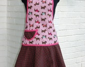 French Bulldog and Scotty-Themed Apron
