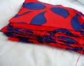 """29 ct 6"""" X 6"""" poly vintage fabric squares"""