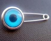 Round Evil eye Pin