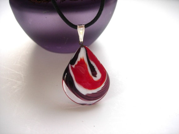 Red and Purple Purity Pendant