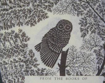 Owl Bookplates