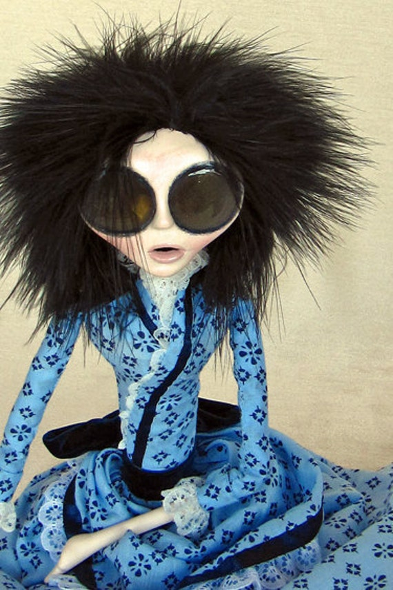 Pretty Victorian Art Doll - Adriana Brinkle