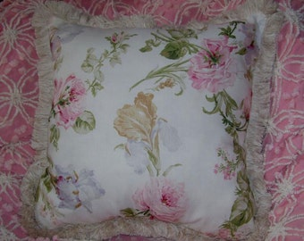 Ralph Lauren Floral Linen Pillow